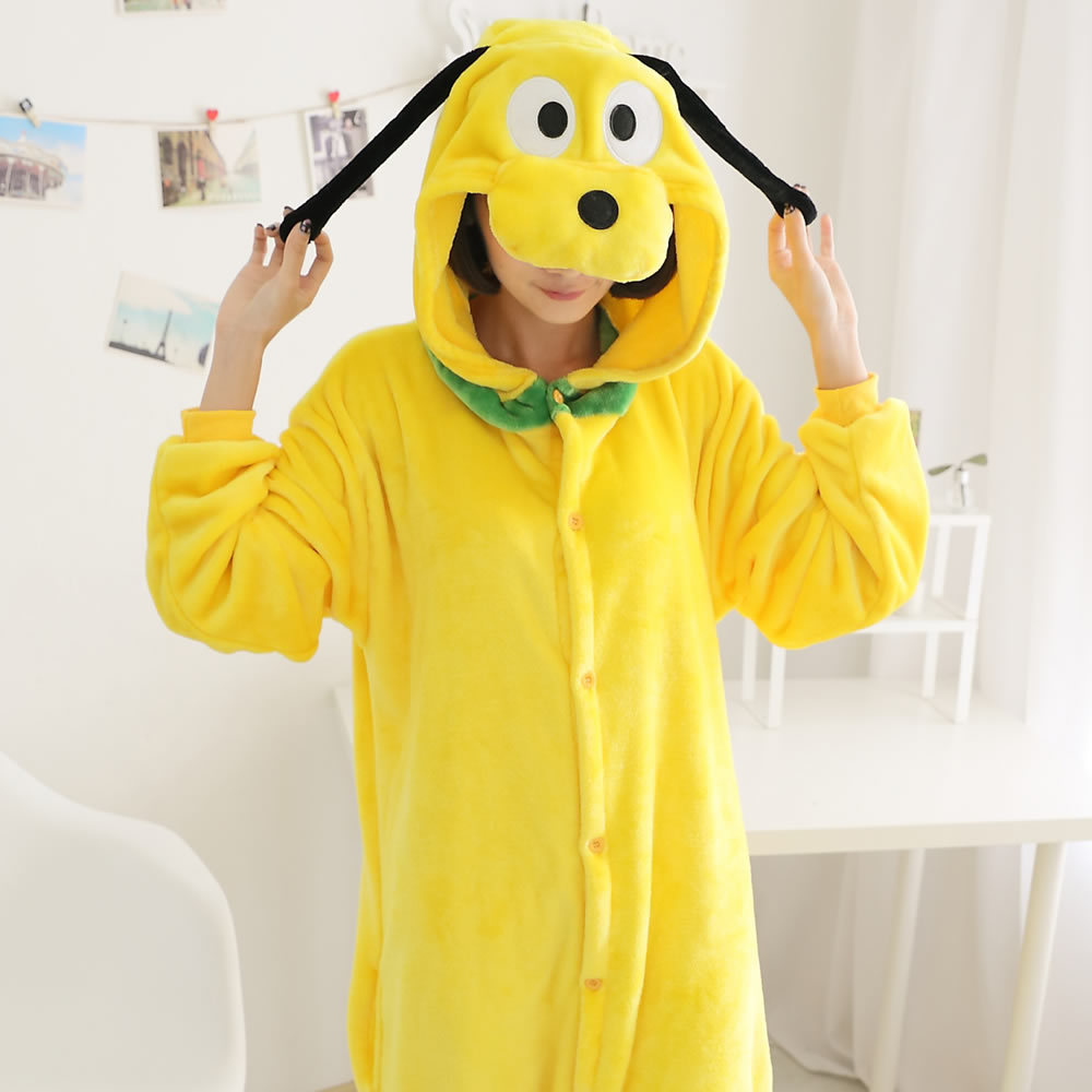 Goofy Costume Adults Yellow Dog Goofy Adult Animal