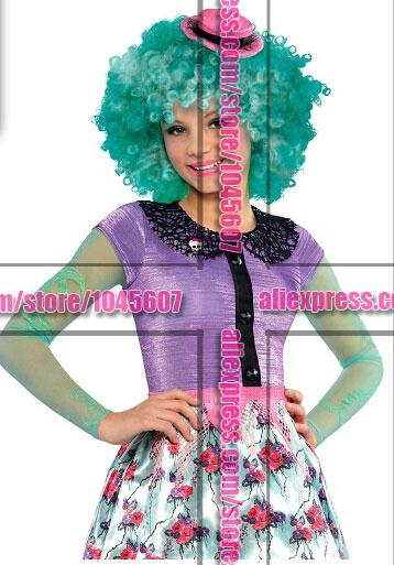 Гаджет  Girls Honey Swamp  Deluxe  Monster High deluxe wig halloween christmas Free Shipping None Изготовление под заказ