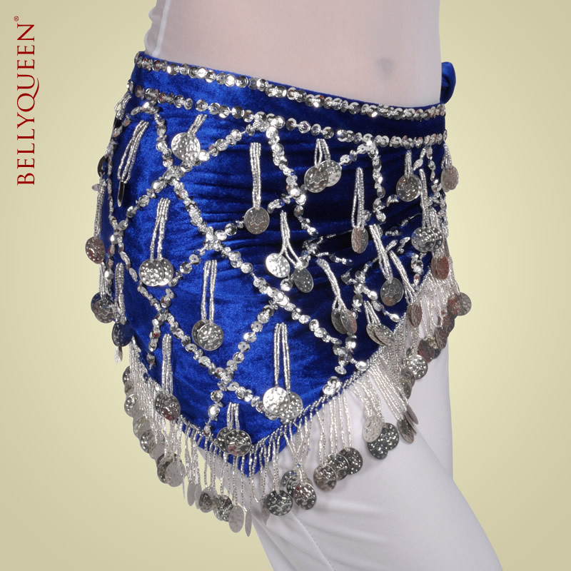 2016The new Egyptian belly dance waist chain belly dance dyed towel hip belt belly dance clothing belly dance costumes 11colors