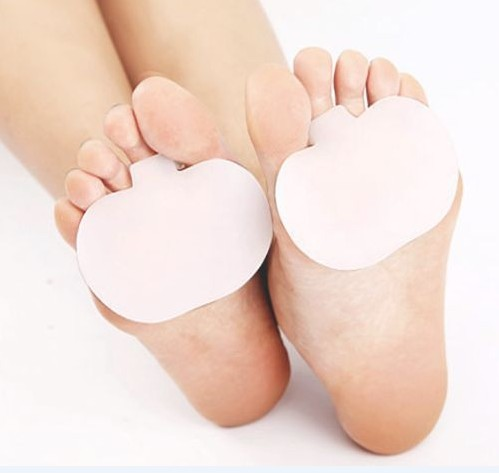 Pair Gel Metatarsal Pad Sore Ball Foot Feet Pain Cushion Forefoot Insoles Support 2pair=4pieces free shipping(China (Mainland))
