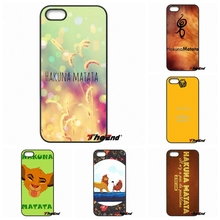 Sony Xperia X XA XZ M2 M4 M5 C3 C4 C5 T3 E4 E5 Z Z1 Z2 Z3 Z5 Compact Hakuna Matata Cute Lion King Mobile Phone Cover Case - Awesome Covers Store store