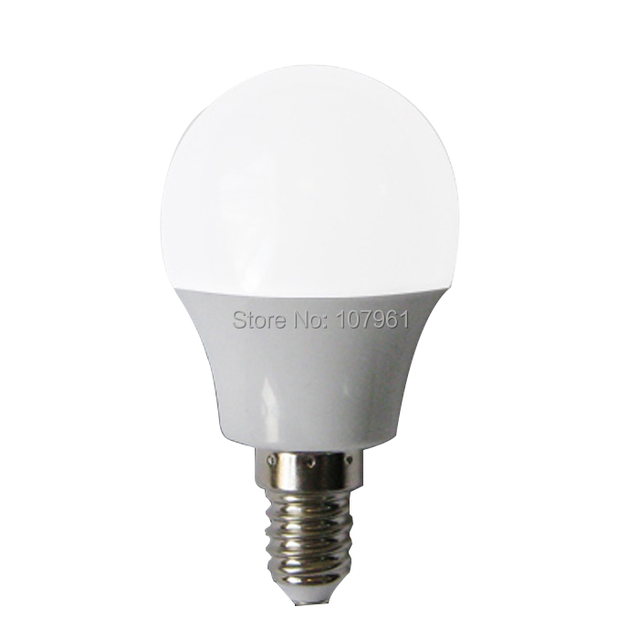 Hotsale safety LED bulbs 3w heating conduct plastic 300lm e14 smd 5730 5050 chip 220V led spotlight lamp warm cool white color(China (Mainland))