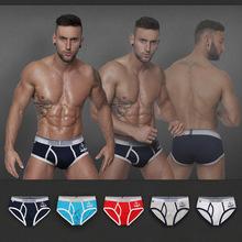 Print Floral Fashion Men's Briefs 100% Cotton Men Underwear Mens 120PCS/lot(China (Mainland))