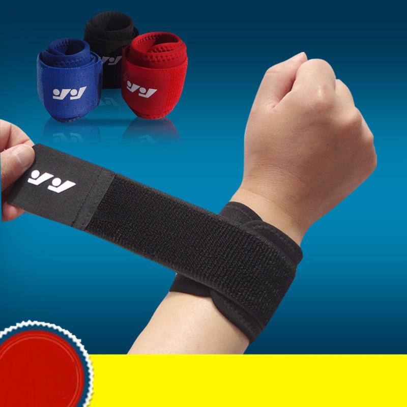 Sport Wristband Brace Wrap Bandage Gym Strap Running Sports Safety Wrist Support Padel Pulseira Badminton Wrist Band Accessories(China (Mainland))