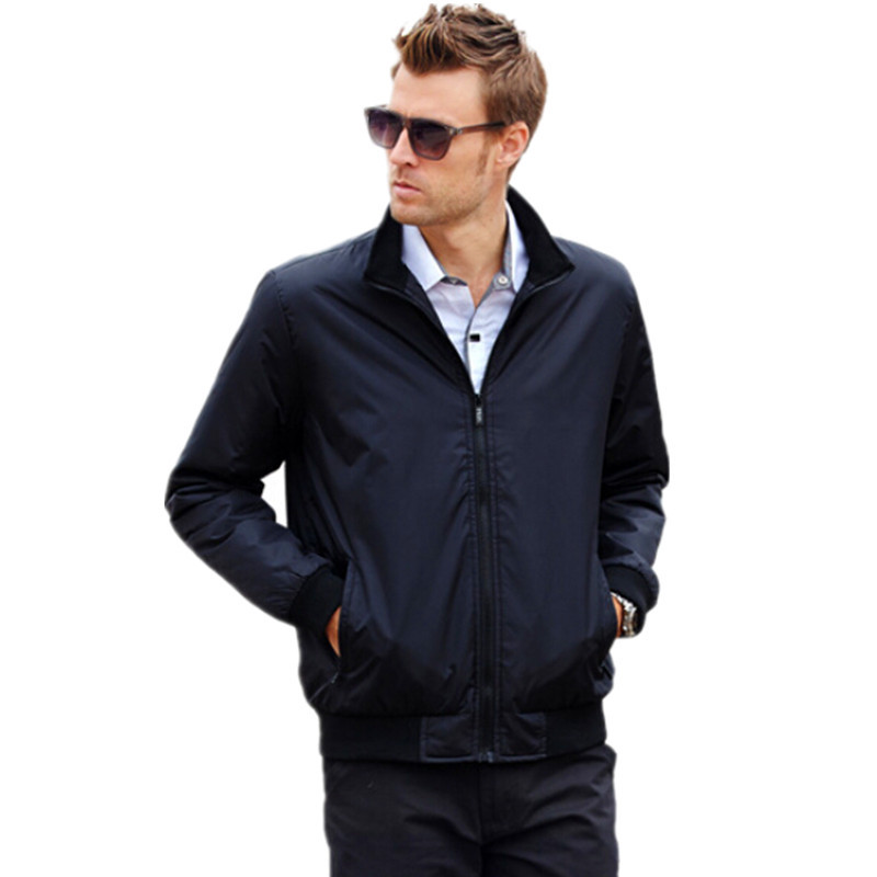 free shipping ! 2014 New England style men's jacket stand collar Slim thin section autumn coat factory wholesale(China (Mainland))
