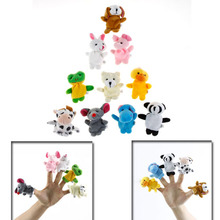 10 Pcs Cartoon Finger Puppet,Finger Toy,Finger Doll,Animal Doll,Baby Dolls for Kids wholesale(China (Mainland))