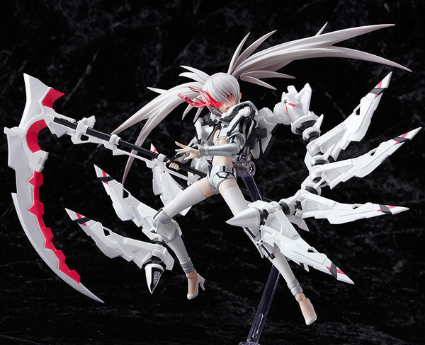 Japan Anime White Rock Shooter Figma SP-033 Pvc Marvel Action Figure White RockShooter Collection Model Toys 15cm(China (Mainland))