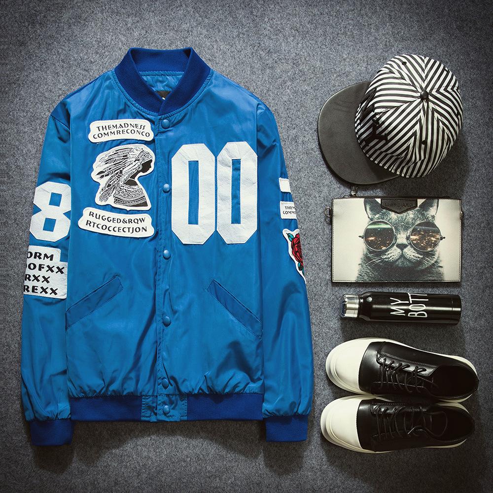 2016 Spring Autumn Japan style Men's Baseball Jacket Male Young Students sport fashion jacket casual mens streetwear, WSA-019(China (Mainland))