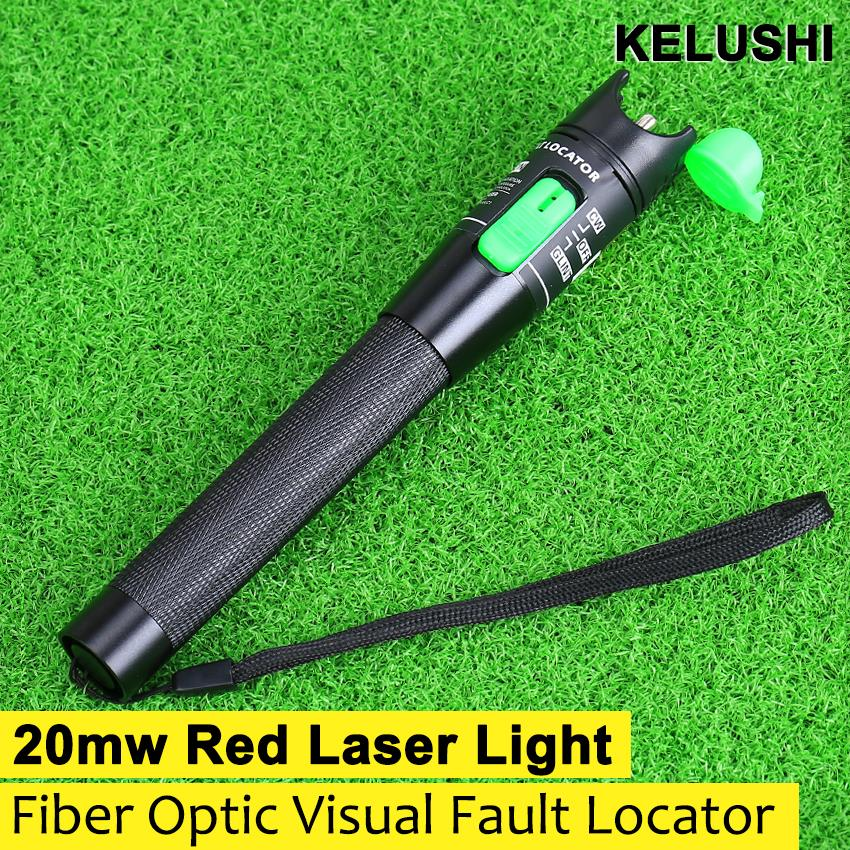 New Fiber Cable Tester 20mW 20km fiber optic visual fault locator 650nm For CATV Free shipping(China (Mainland))