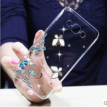 Buy sheep bling flower Crystal Cell Phone Shell back cover hard case Samsung Galaxy J3 2016 J320 J320F J320P J3109 J320M J320Y for $3.21 in AliExpress store