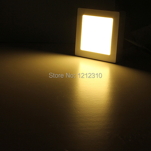 Здесь можно купить  10pcs 6W 12W 18W AC85-265V Square Ceiling Surface Mounted LED Panel Light for foyer and kitchen study by DHL/Fedex  Свет и освещение