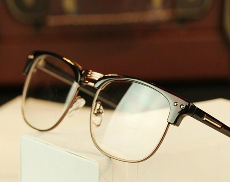 Glasses Frame Personality Quiz : Aliexpress.com : Buy 2015 New Arrival Fashion Metal Half ...