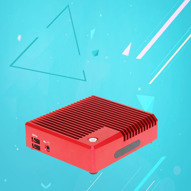 Barebone mini pc I5 Broadwell 5100U High Grade Windows mini pc 4K FANLESS WINDOWS 10 I5-4258U HDMI USB VGA(China (Mainland))