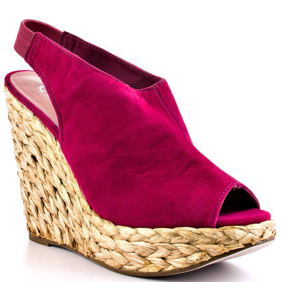 Cheap Red Wedge Heels