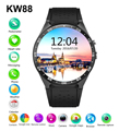 2016 Hot Sale KW88 Smart watch Android 5 1 MTK6580 CPU 1 39 inch 3G Wifi