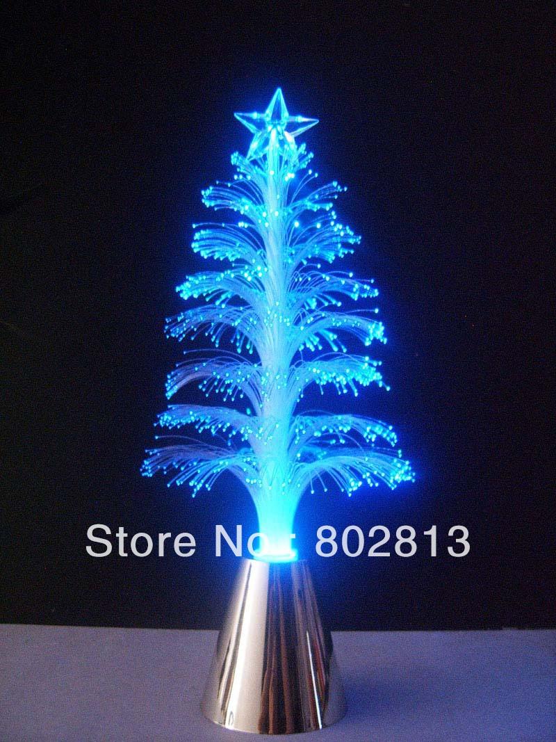 fiber optic christmas tree with lights - Mini Fiber Optic Christmas Tree