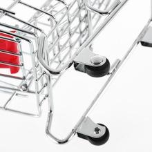 1pcs Mini Supermarket trolley Shopping Handcart Phone Holder Baby Toy free shipping(China (Mainland))
