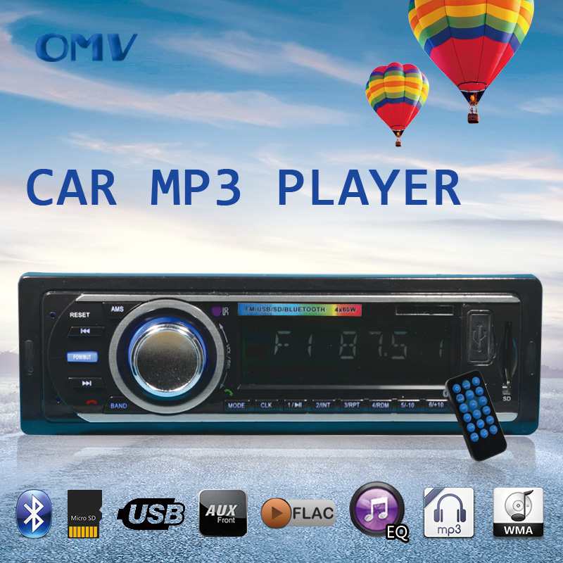 12V Blutooth usb/sd car-styling the car radio mp3 player module aux mp3 player the car radio mp3 fm In-dash(China (Mainland))