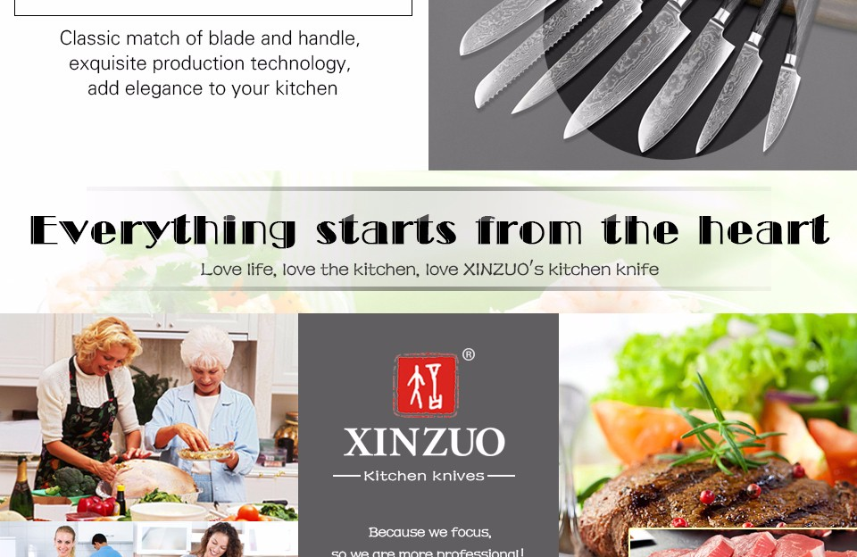 """Buy XINZUO 8"""" inch High quality chef knife China 67 layer Damascus stainless steel kitchen knife pakka wood handle free shipping cheap"""