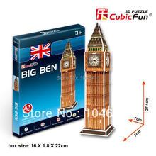 Big Ben de CubicFun 3D educativo de papel y EPS modelo Papercraft adorno casero para el regalo navidad