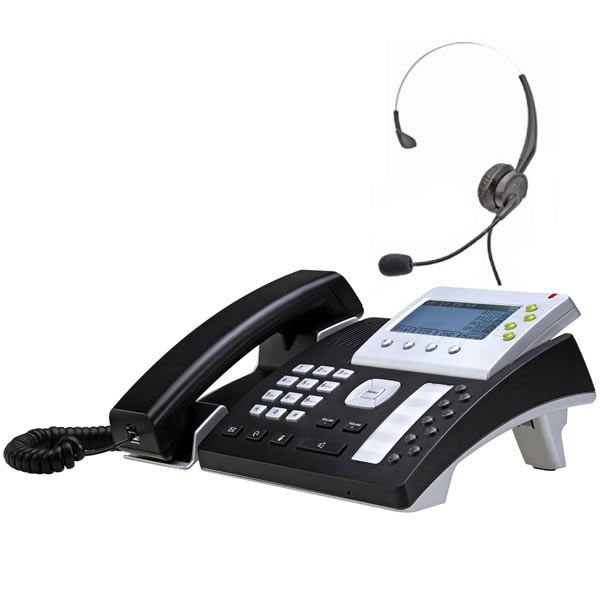 AT840P VoIP phone with T400 headset,support POE,SIP phone,Elastix certified, works w/h most sip server, ip-pbx, ipcc call center(China (Mainland))