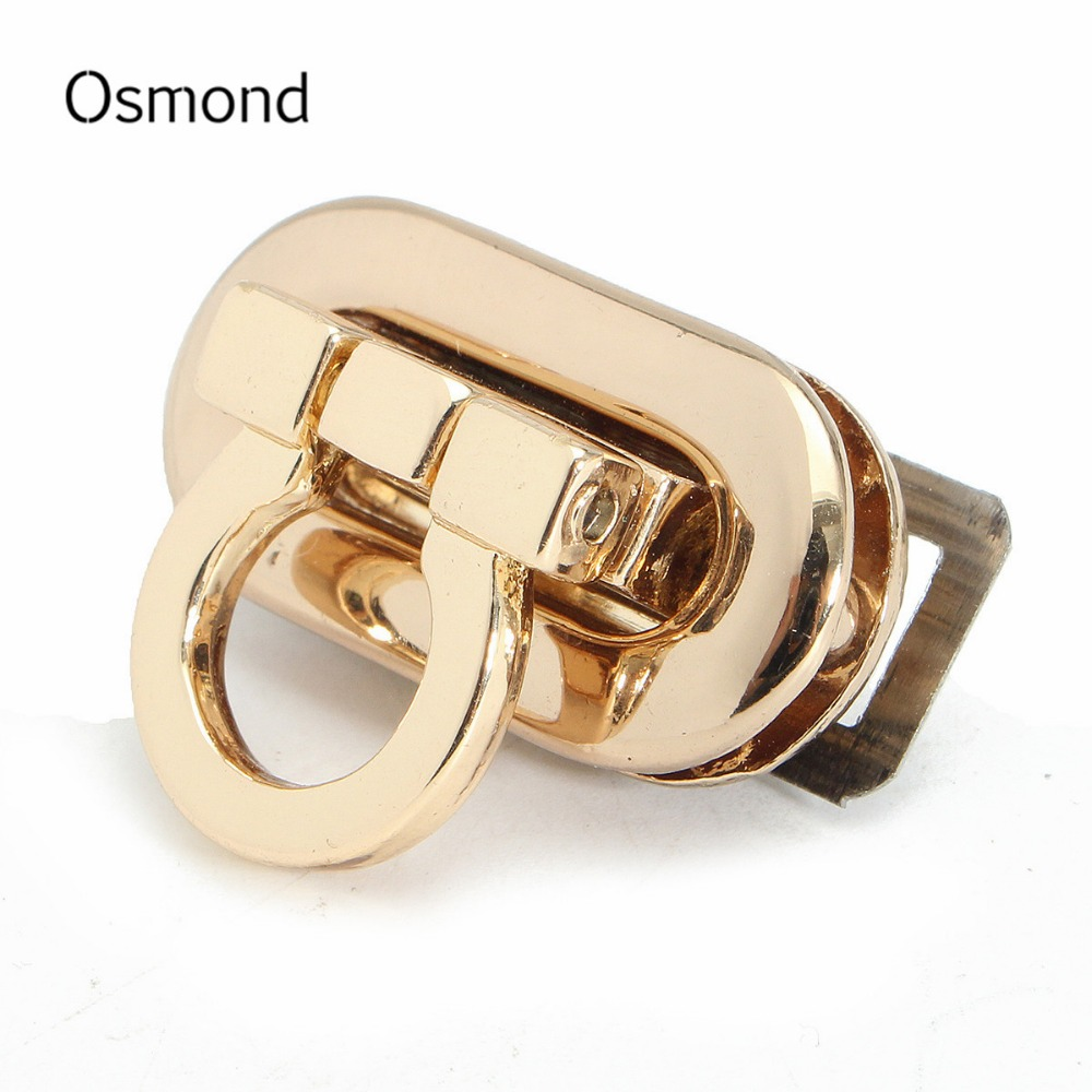 Osmond 2017 Fashion Women Alloy Handbag Bag Accessories Buckle Twist Turn Lock Snap Clasps Closure for Purse Handbag Bag(China (Mainland))