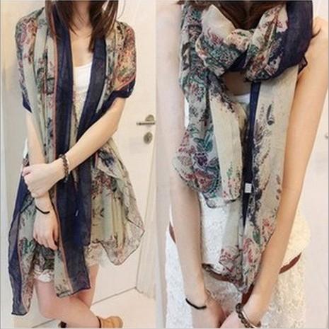180 x 80 см новинка зима горячая распродажа большой цветок торгует отпечатано девушку шарф хлопка 80528
