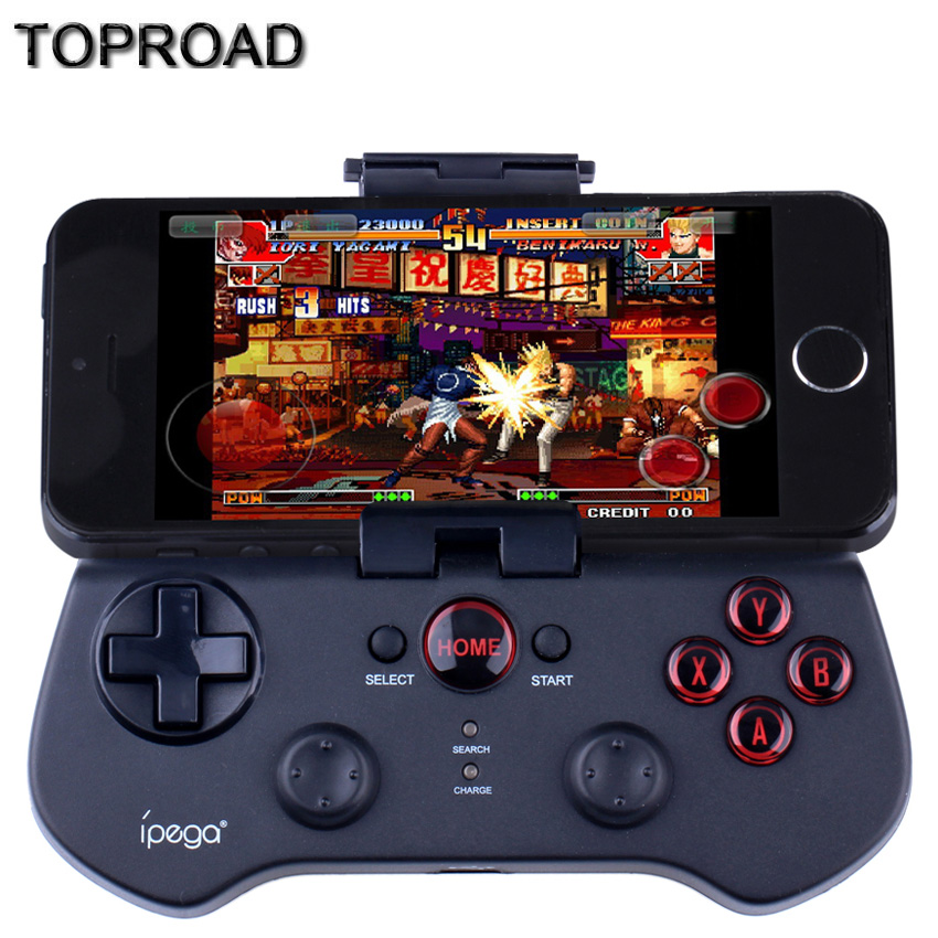 Wireless Bluetooth Controller Game Pad Gamepad Telescopic Stand Joystick Joypad for iPhone iPad Samsung LG iOS Android Tablet PC(China (Mainland))