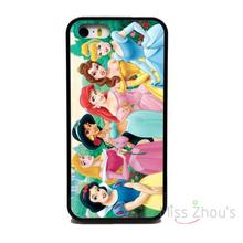 For iphone 4/4s 5/5s 5c SE 6/6s plus ipod touch 4/5/6 back skins mobile cellphone cases cover NEW PRINCESS CINDERELLA