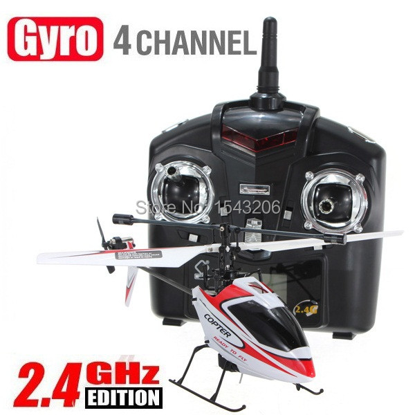 WLtoys Upgrade Version V911 2.4Ghz 4CH Single Blade Radio RC Helicopter GYRO Red RTF(China (Mainland))