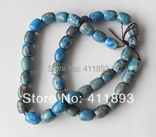 Lapis Lazuli Jasper Pendent Bead SET.10X8MM.48.779G<br>