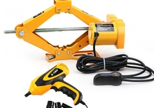 Electric car jack with a low -power dual-use electric 12v rescue tool(China (Mainland))