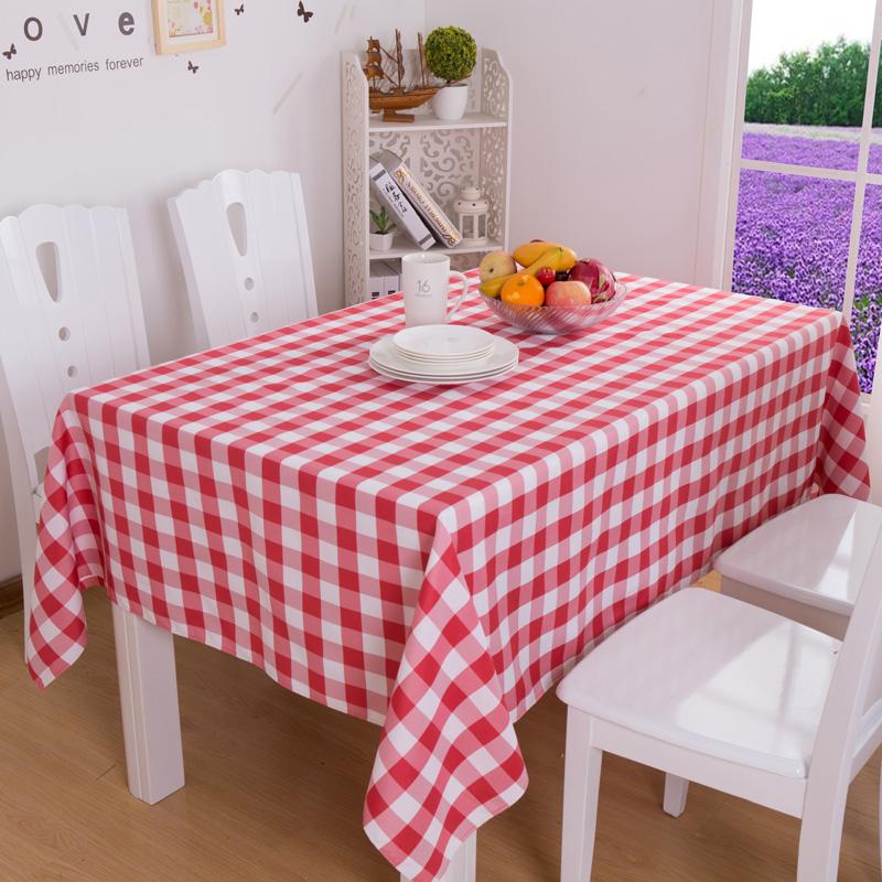 Compra a cuadros mantel de picnic online al por mayor de - Manteles mesa rectangular ...