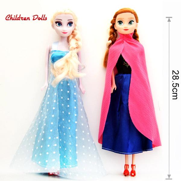 Hot Sale Princess Elsa and Anna Baby Toy Girls Dolls Cartoon Kids Toys Party Decoration Olaf Sven Girls Brinquedos Meninas DD001(China (Mainland))