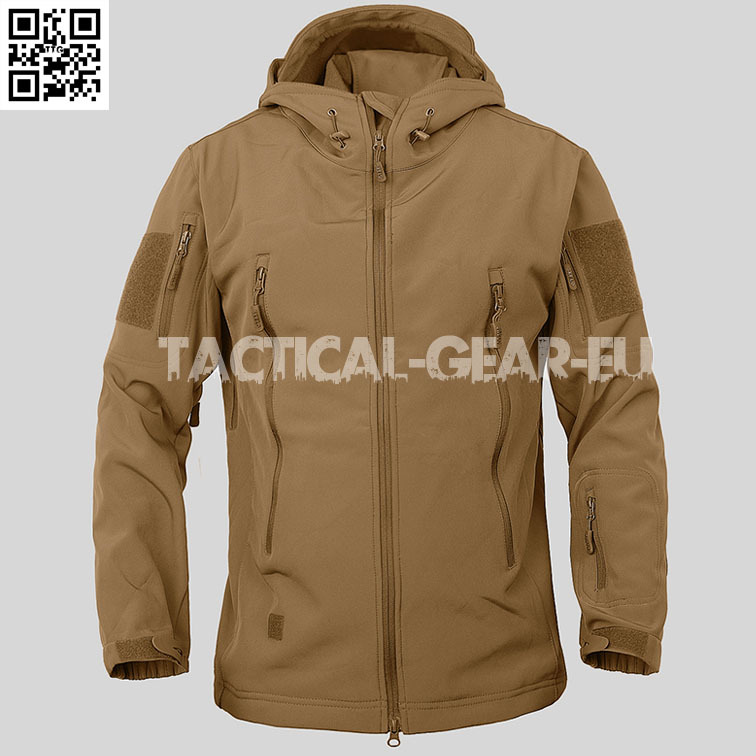 Men Windproof Waterproof Military Tactical Jackets Hunting Camping Hiking Outdoor Army Sports hooded Thermal Fleece Lining Coat