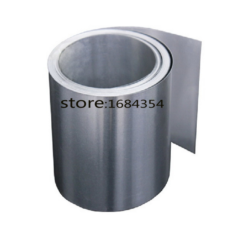 0.06mm Thickness 100mm Width Stainless Steel Sheet Plate Leaf Spring Stainless Steel Foil The Thin Tape(China (Mainland))
