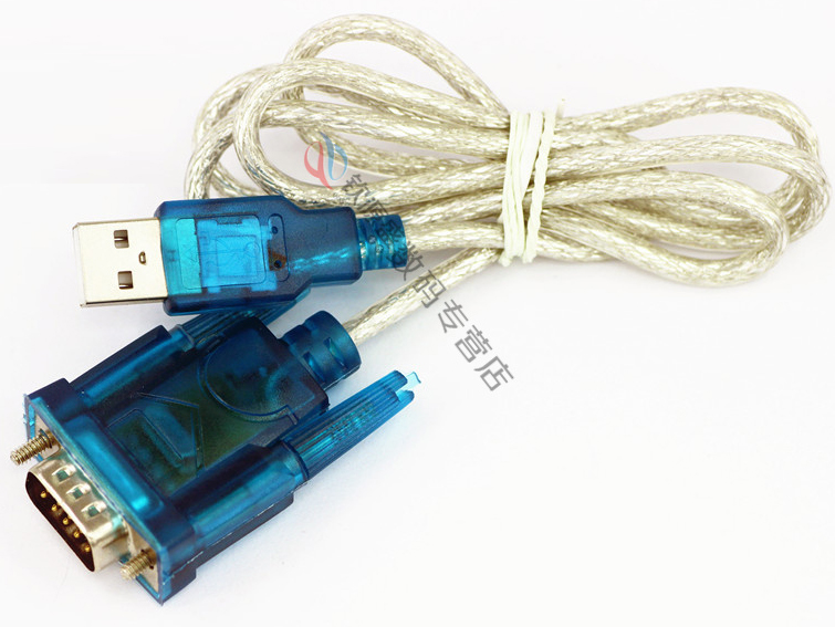 USB to RS232 Serial Port 9 Pin DB9 Cable Serial COM Port Adapter Convertor Blue SG064-SZ(China (Mainland))