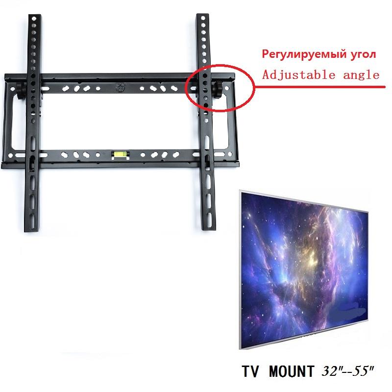 Adjustable angle universal hanger lcd led plasma tv wall - Angled wall tv mount ...
