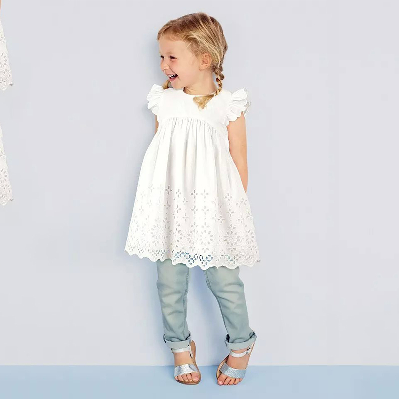 2016 Hot Fashion Baby Girl Lace Infant Dress Princess