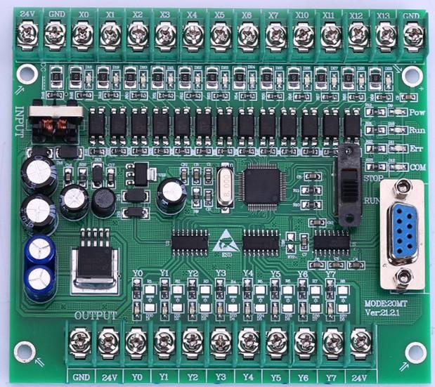 PLC118#   Single board  plc,FX2N 20MR  compatible for  Mitsubishi plc,STM32 MCU  12  input point  &amp;  8 output point<br><br>Aliexpress