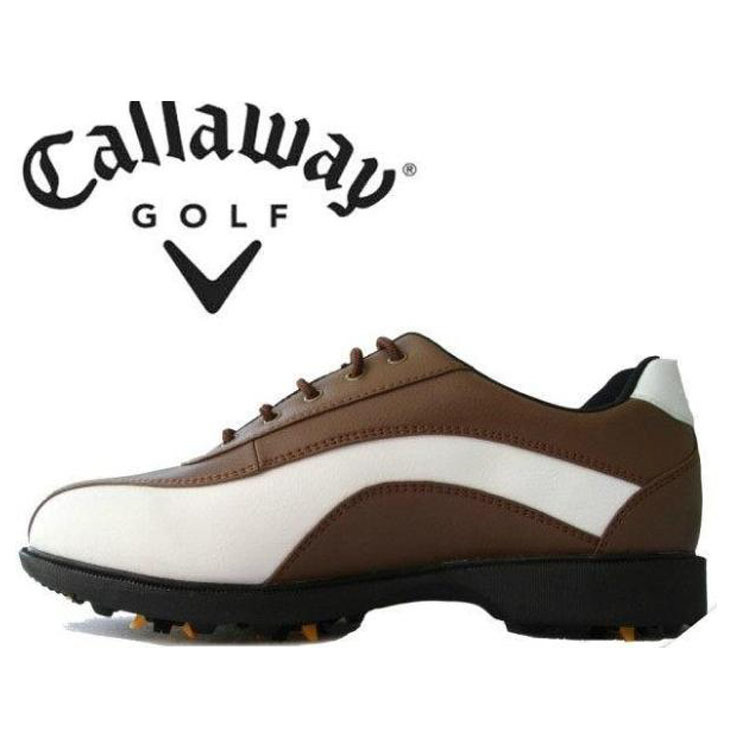 Clear stock Price 2015 big brand mens golf shoes men top quality leather elegant comfortable send spikes for free Free shipping(China (Mainland))