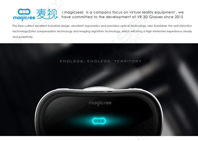 ถูก จัดส่งฟรี! Magicsee M1 ALL-IN-ONE VRความจริงเสมือนแว่นตา3D Android 4.4 Full HD 2กรัม/16กรัม