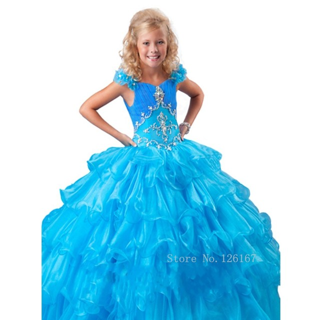 Beauty Pageant Dresses For Juniors