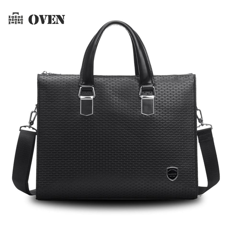 Luxury Men's Bag Business Briefcase Brand Designer Vintage PU Leather Men's Handbag Laptop Shoulder Bag Crossbody Bag z89005-3(China (Mainland))