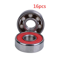 Buy 16pcs/Lot Deep Groove Roller Ceramic Ball Inline Skate Skateboard Bearings Drift Plate Skates Scooter Accessories for $22.46 in AliExpress store