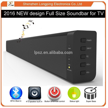 LP-60W  2.0ch BT LED TV Soundbar Top Quality Subwoofer  Stereo Audio Home Theater System