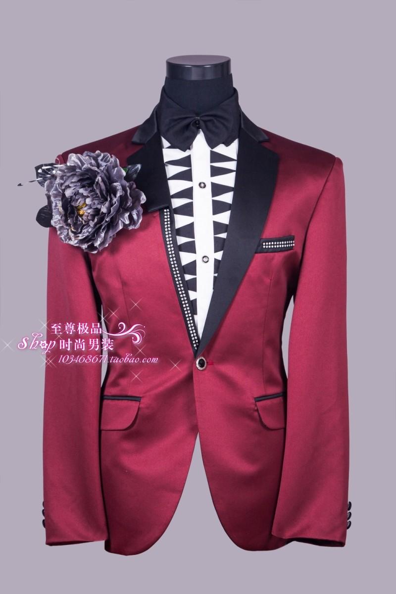 Free shipping !!! The new men's suits Men's dress casual wear Business men's MC leisure dress suit / S-XL