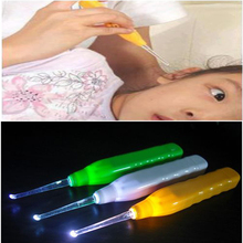 Free shipping NEW 2014 LED light ear cleaning led flashlight to clean ears safety light L4A33