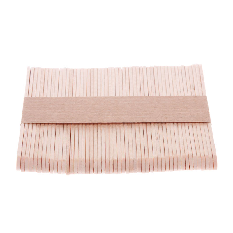 New Funny Wooden Popsicle Stick Kids Hand Crafts Art Ice Cream Lolly Cake DIY Making #56110(China (Mainland))