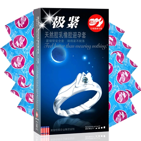 Adult supplies Genuine Bally music very tight trumpet condom condom delay lasting 50mm tension does not fall off(China (Mainland))